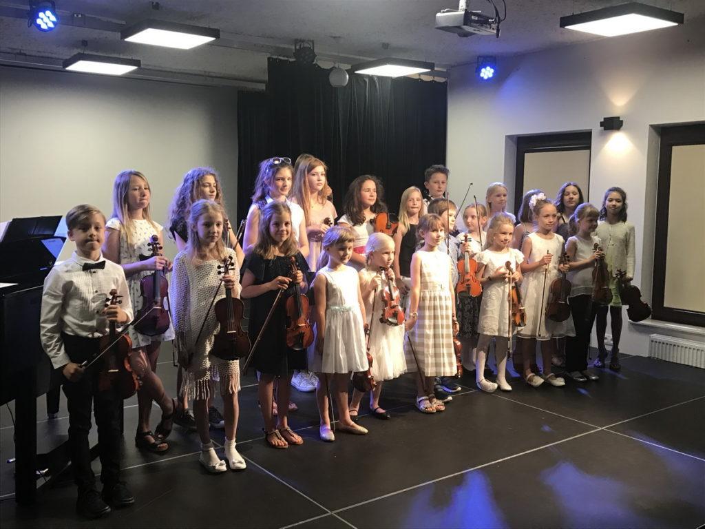 nauka skrzypiec gry koncert wilanów centrum kultury lekcje dzieci nauka skrzypce